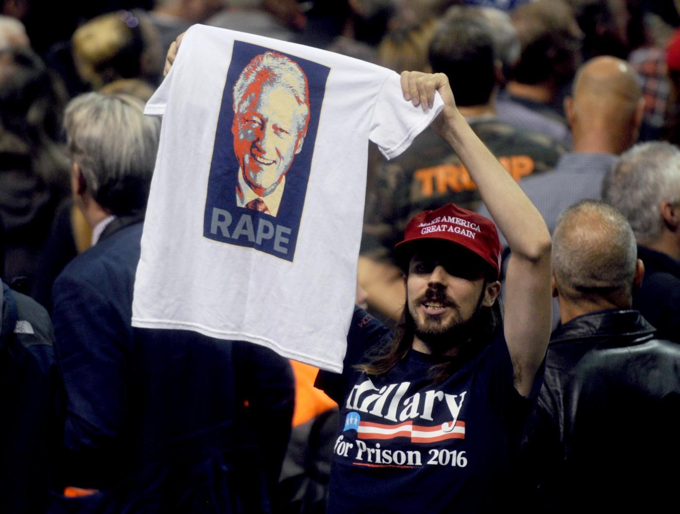 Donald Trump parla al Mohegan Sun Arena di Wilkes Barre