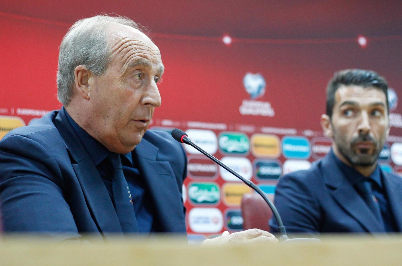 Macedonia, Conferenza Stampa di Mister Ventura e Buffon