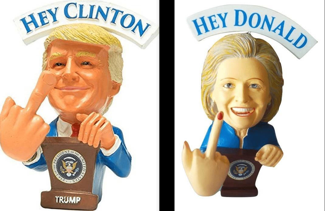 Elezioni Usa, i gadget più strani di Donald Trump e Hillary Clinton
