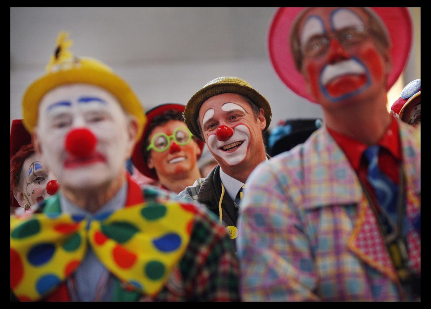 Londra:Raduno Clown