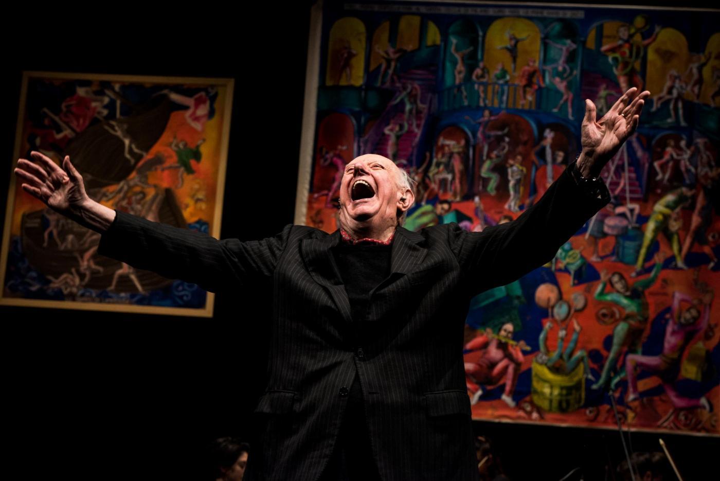 90esimo compleanno di Dario Fo al Piccolo Teatro di Milano