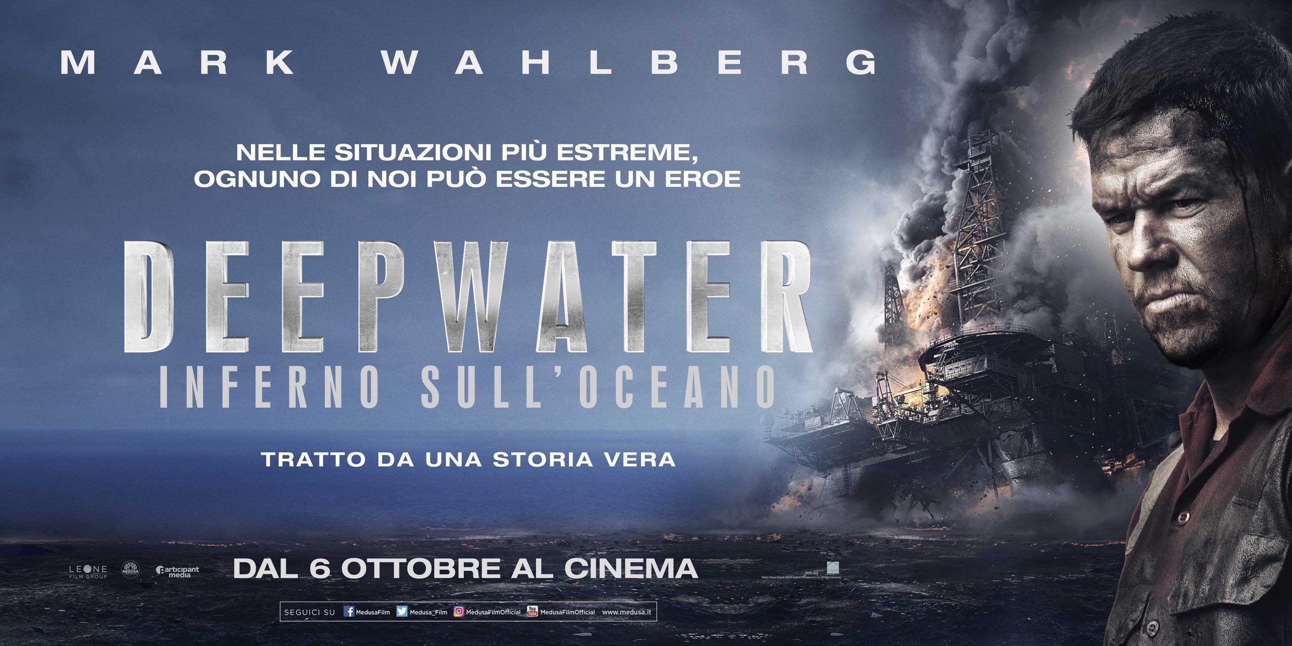 """DeepWater – Inferno sull'oceano. Mark Wahlberg ai nostri microfoni: """"un film difficile ma vero"""""""