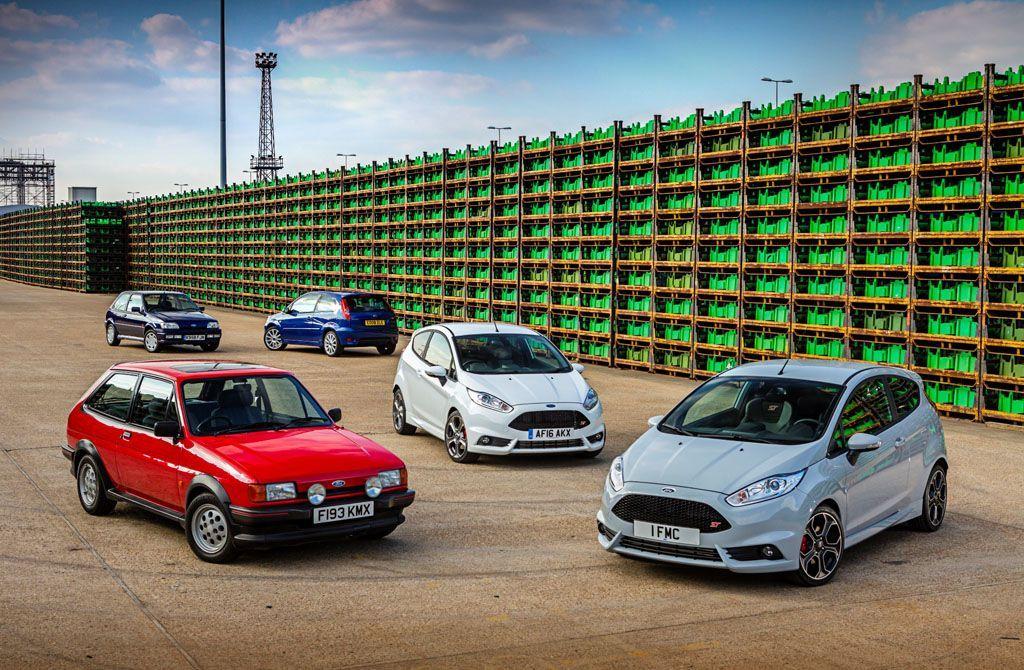 Ford Fiesta 40 anni: l'americana d'Europa