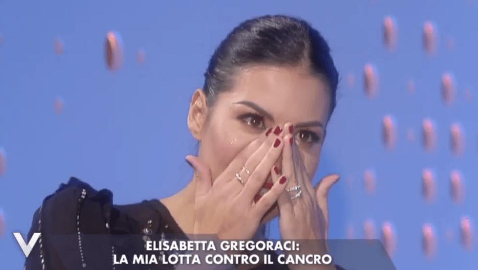 Gregoraci piange a Verissimo 2016