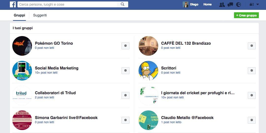 Gruppi Facebook
