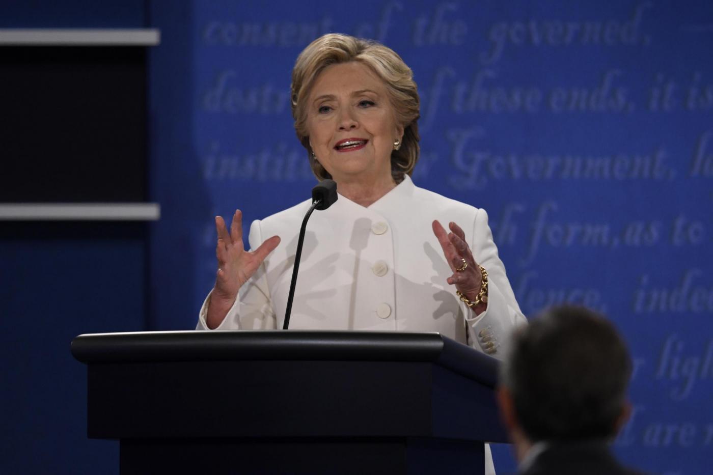 Ultimo conftronto a Las Vegas tra Hillary Clinton e Donald Trump