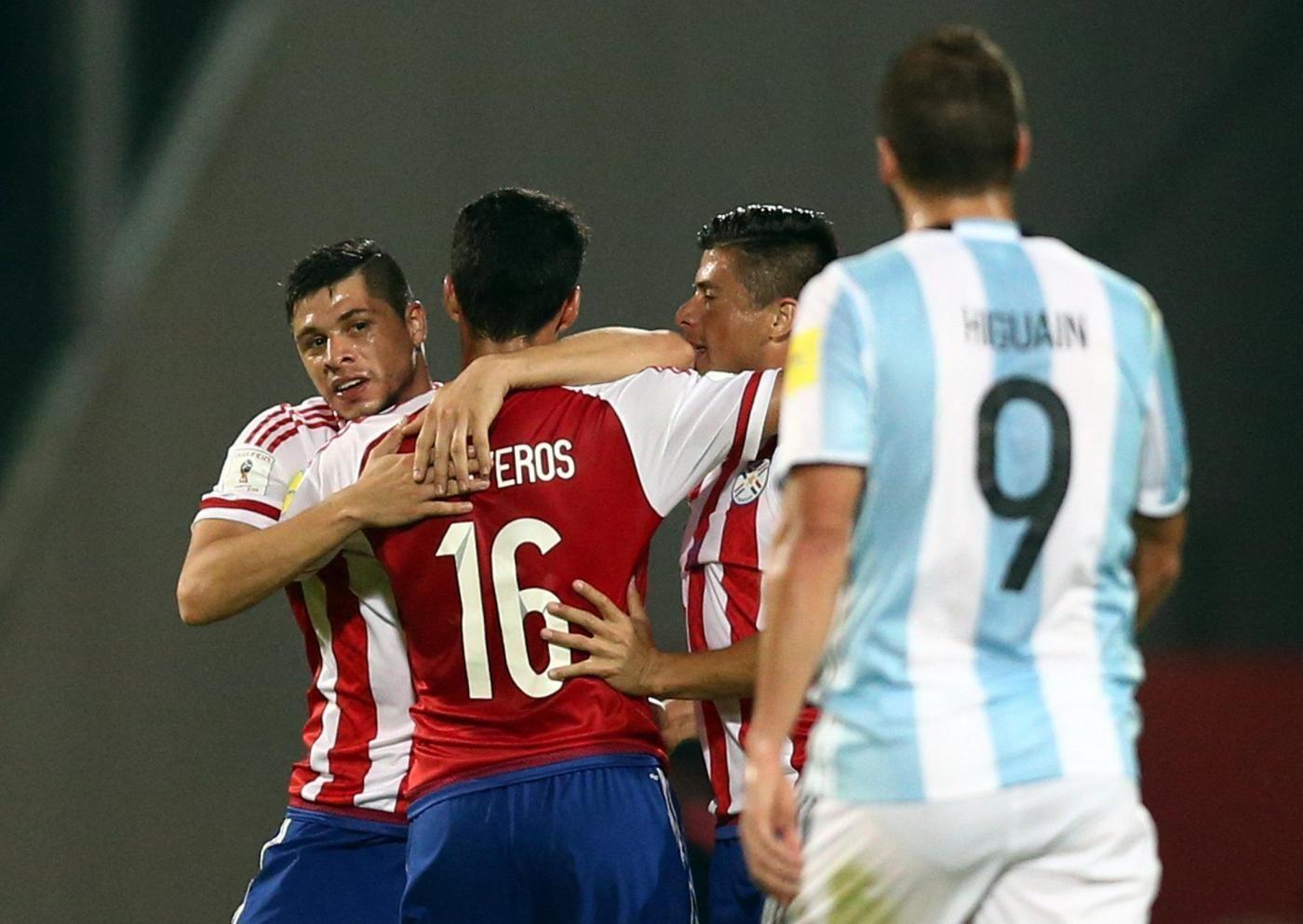 Argentina vs Paraguay Qualificazioni Russia 2018
