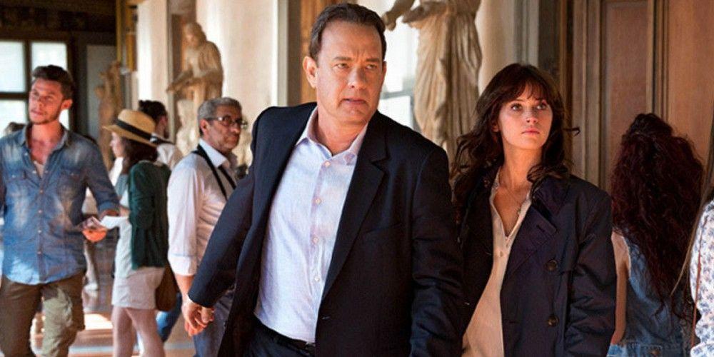 Inferno, Tom Hanks e Felicity Jones 1