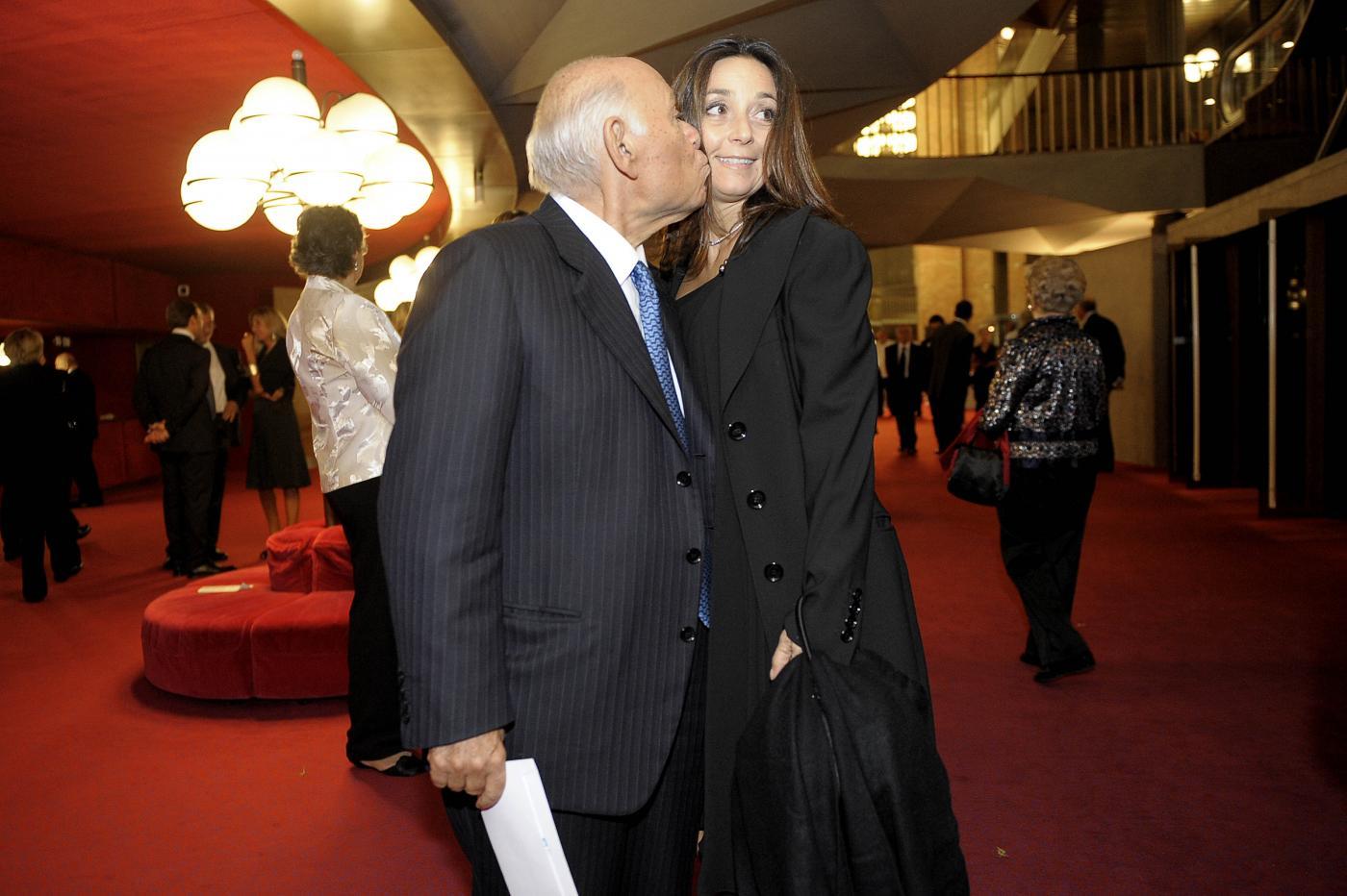 Jonella Ligresti e Salvatore Ligresti