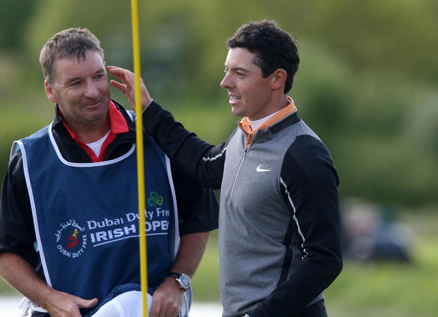 Golf, Rory McIlory regala 1 milione di dollari al caddie