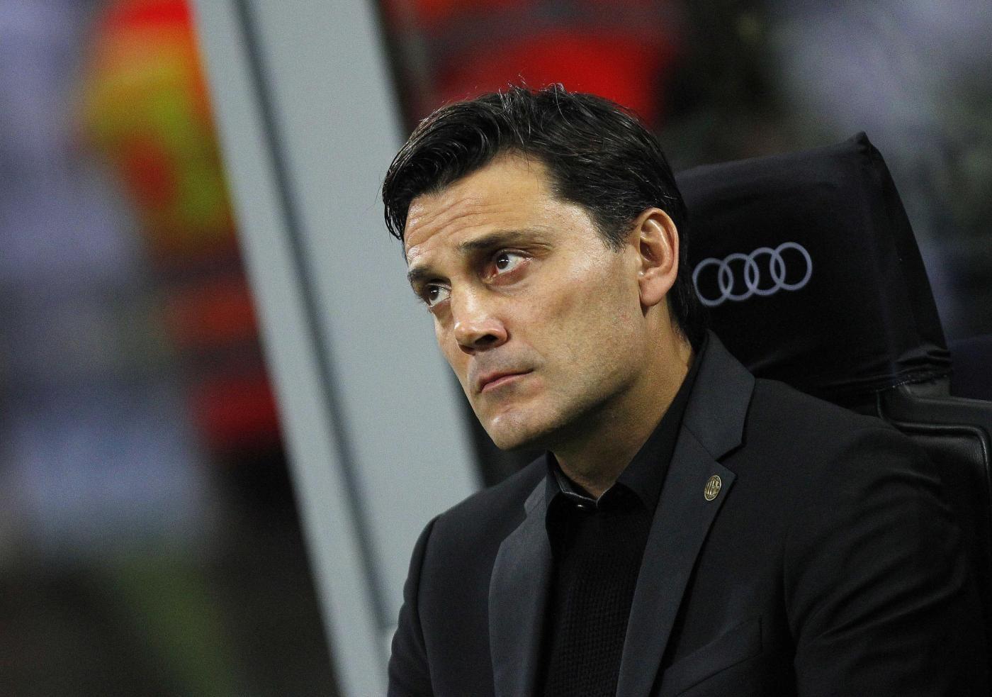 Milan-Inter: Montella è uomo derby, Pioli no
