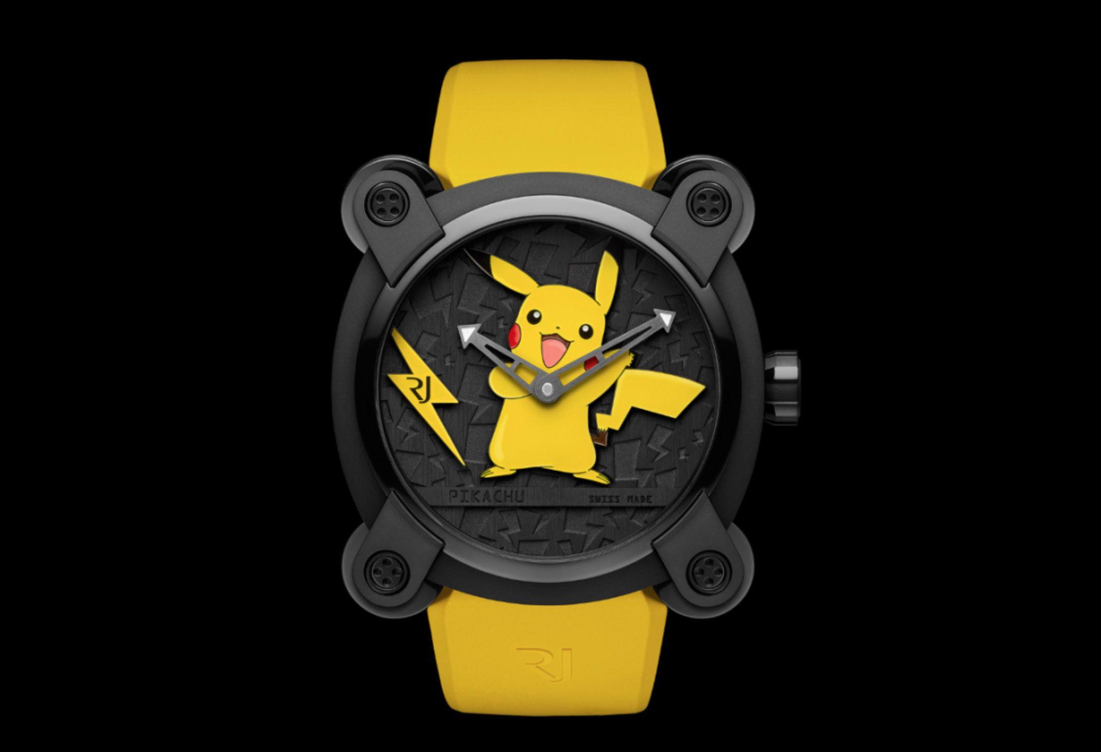 Orologio Pokemon edizione limitata Pikachu