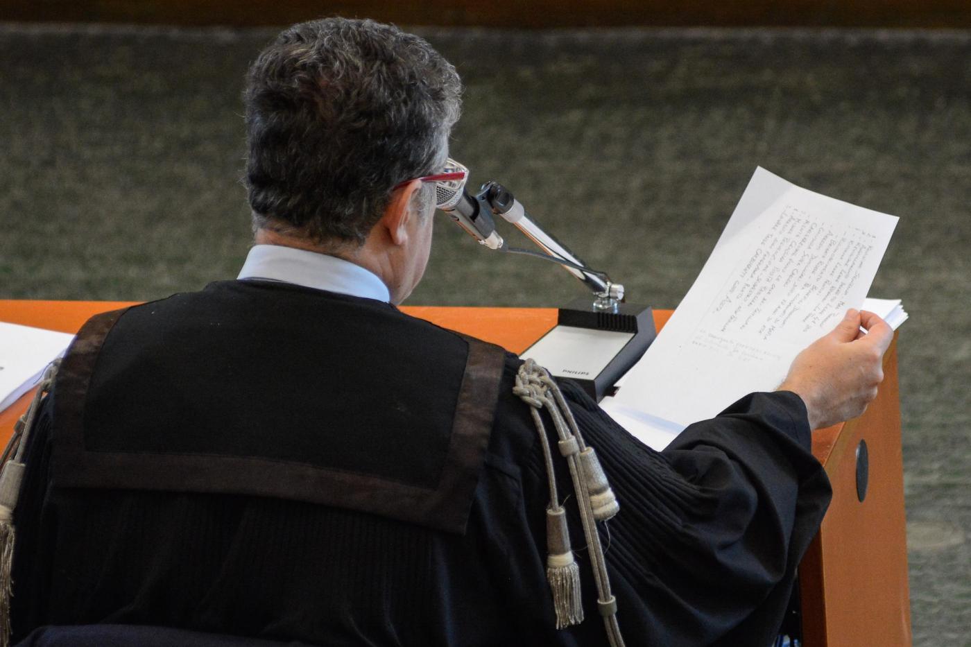 Palermo, Pm Nino di Matteo al processo Stato mafia