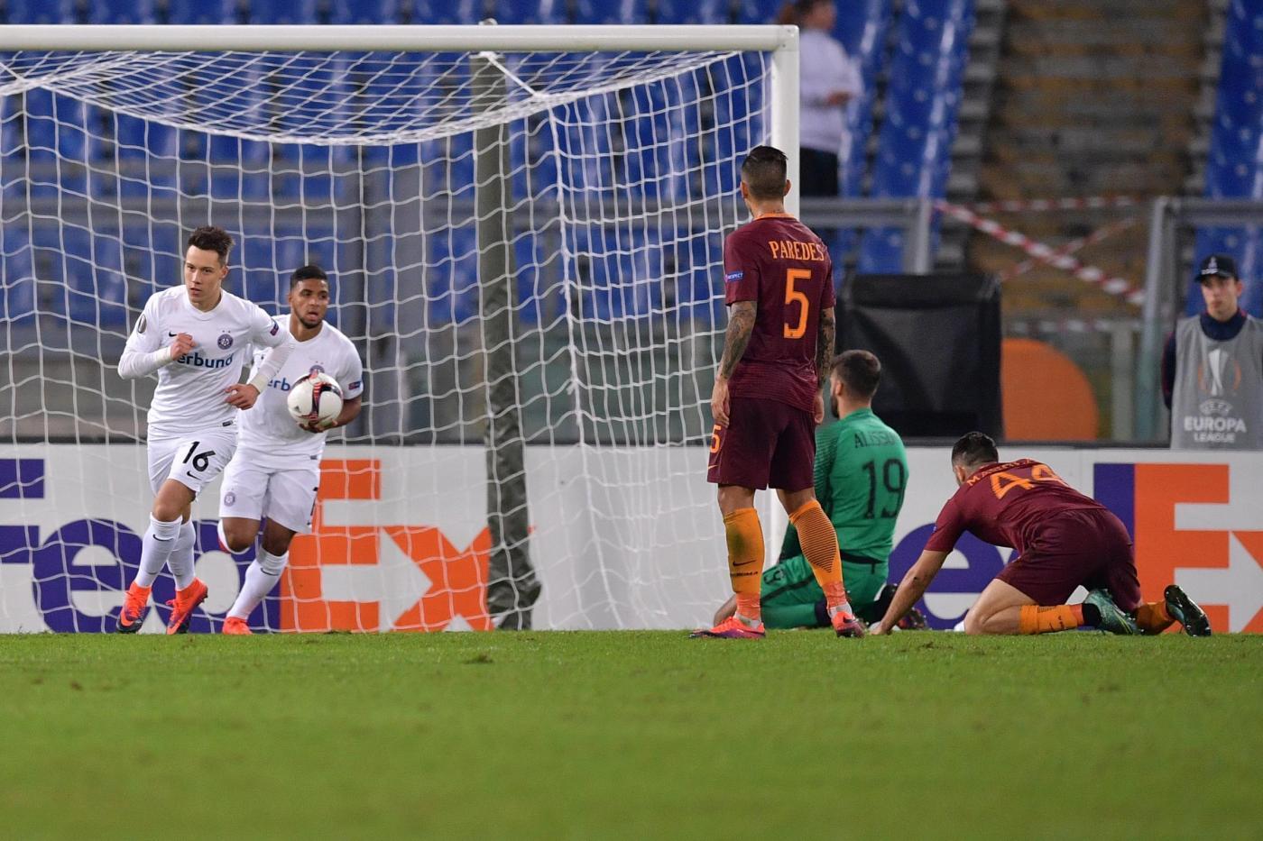 Europa League: Roma scellerata, Inter che fatica