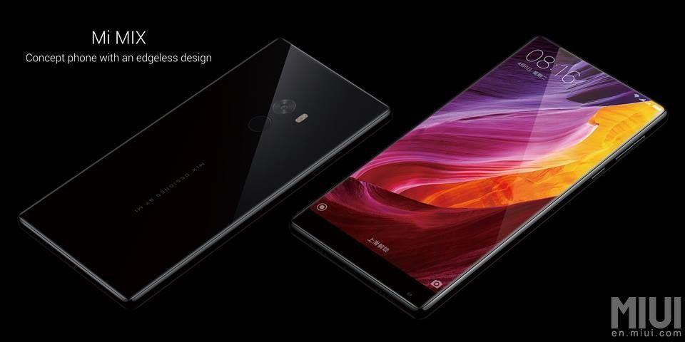 Xiaomi Mi MIX: lo smartphone tutto schermo, senza bordi