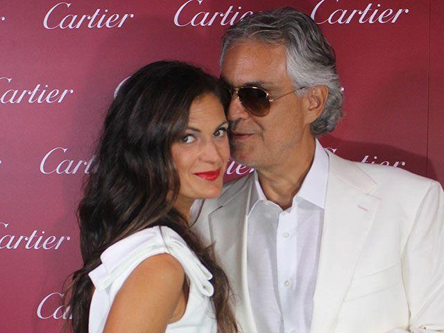 Andrea Bocelli e la moglie Veronica: un amore nato 15 anni fa