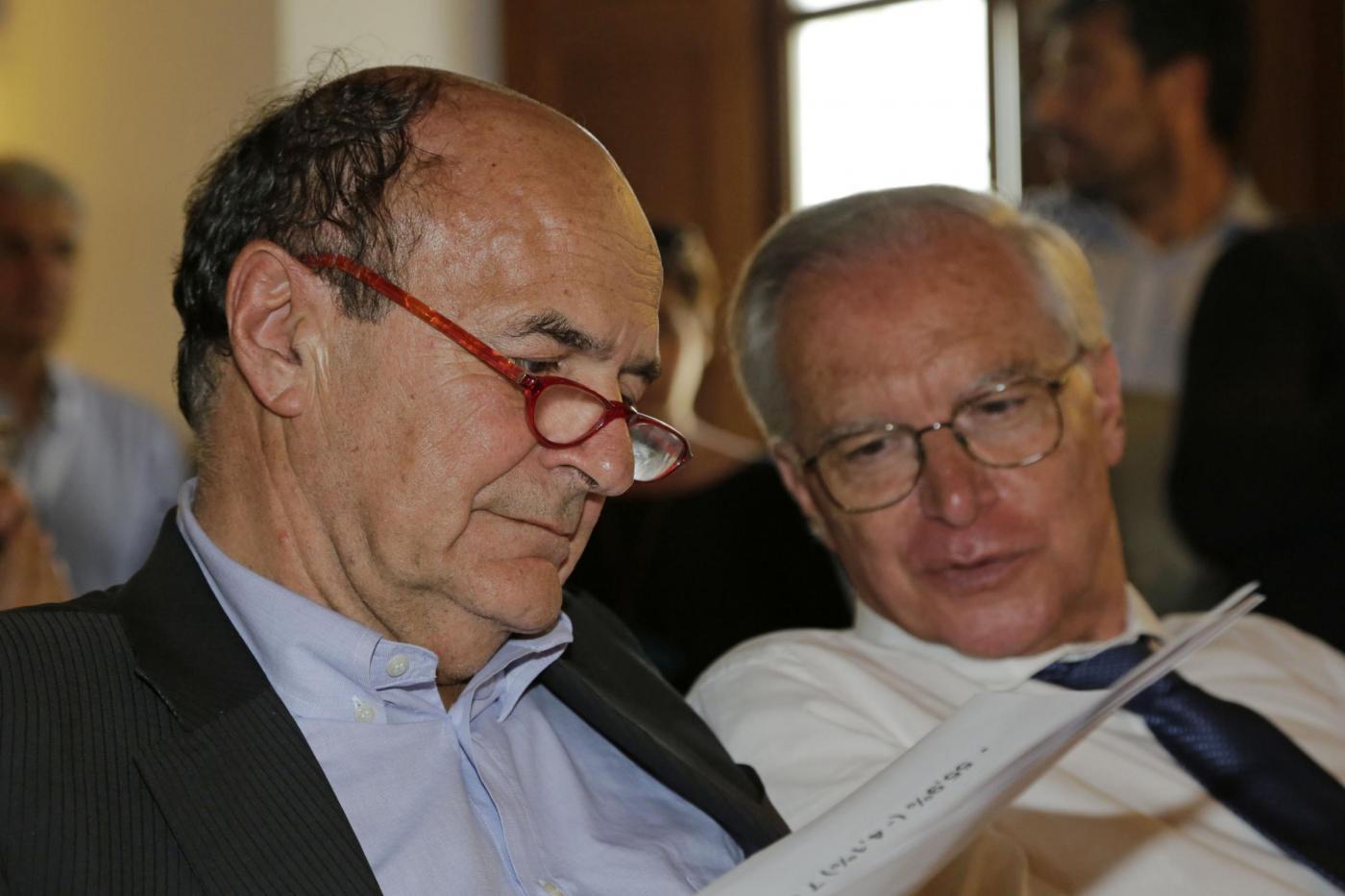 Incontro della minoranza PD: Bersani ed Epifani