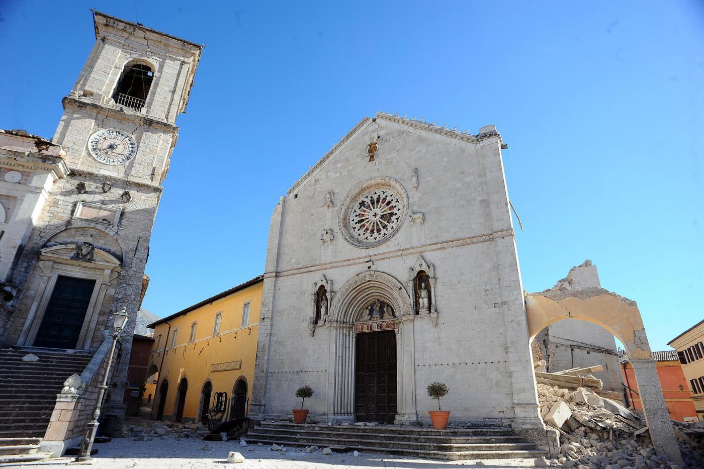 Nuovo sisma in centro Italia: le immagini di Norcia
