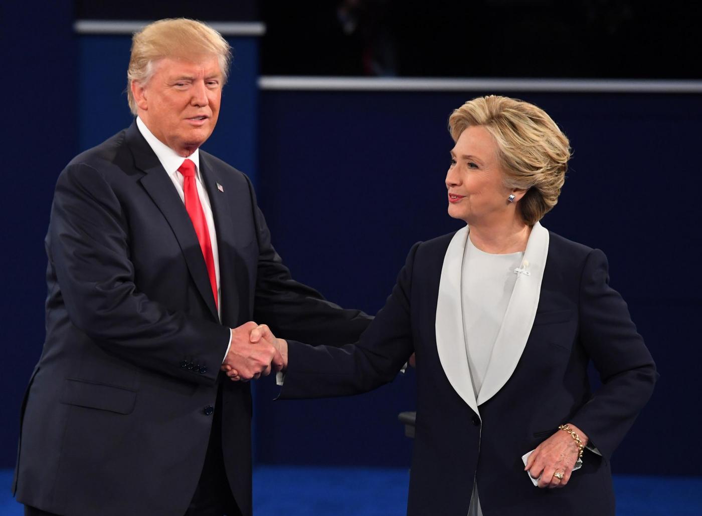 Secondo dibattito tra Donald Trump e Hillary Clinton a Washington