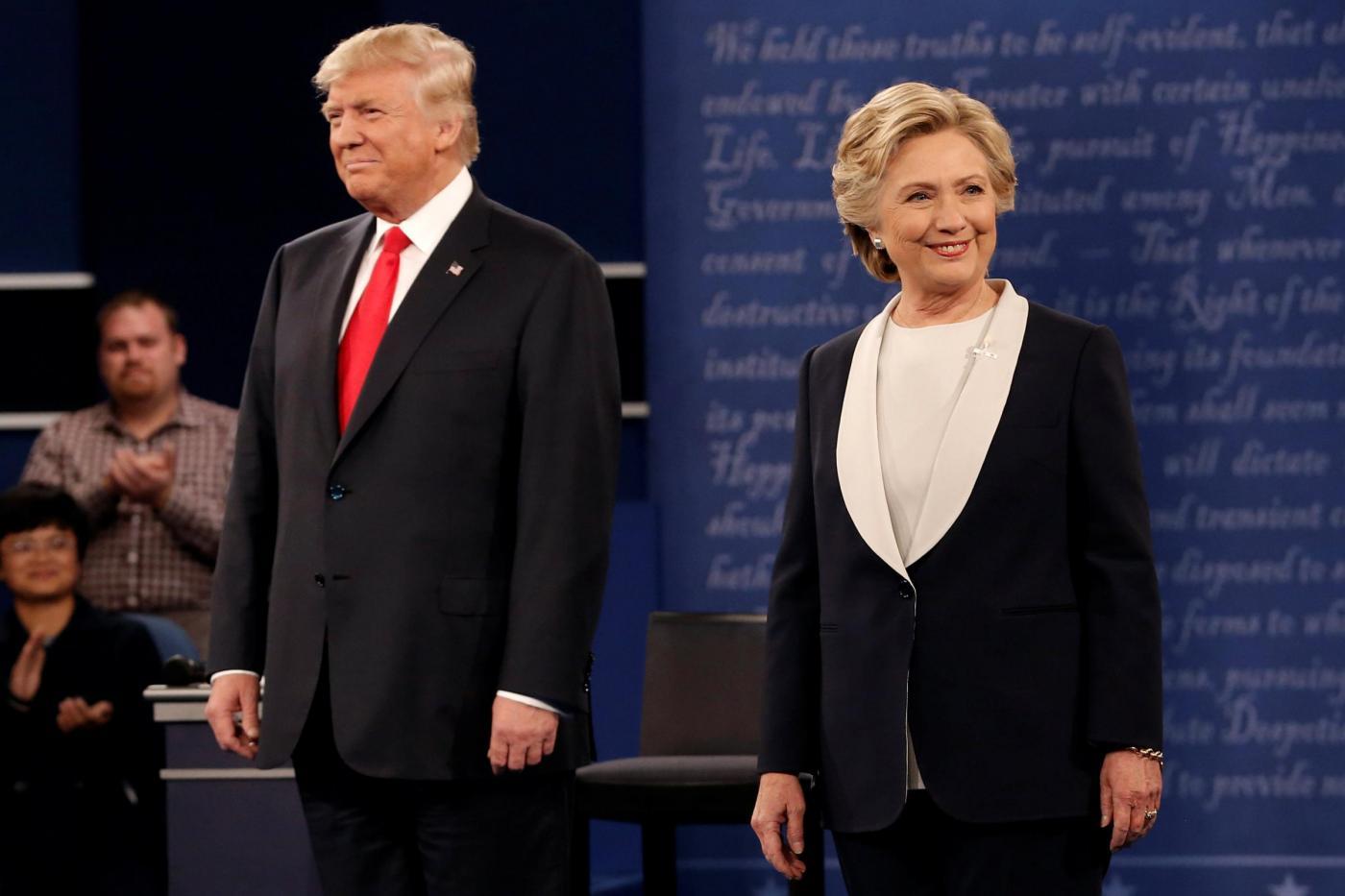 Usa, a St. Louis il secondo confronto televisivo Tra Hillary e Trump