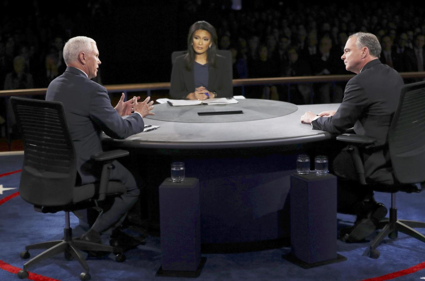 Il dibattito tra i vicepresidenti nominati nella corsa alla Casa Bianca