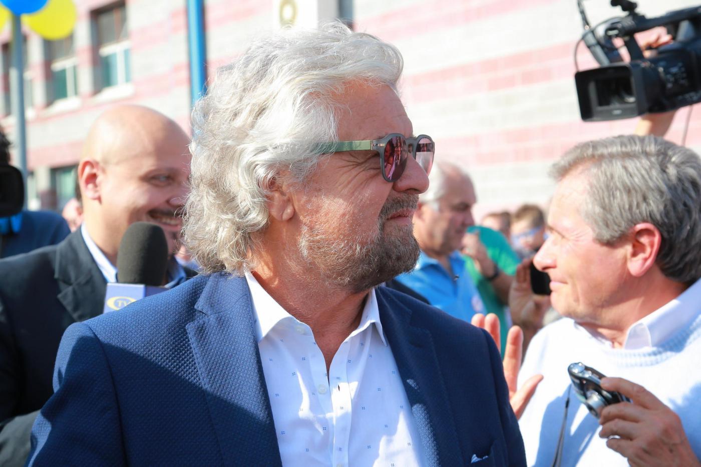Beppe Grillo difende Virginia Raggi: 'Mazzillo del PD? Anch'io ho avuto la tessera'