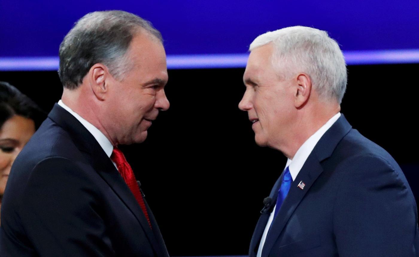 USA 2016, duello tv tra i vice Pence e Kaine: vittoria al numero 2 di Donald Trump