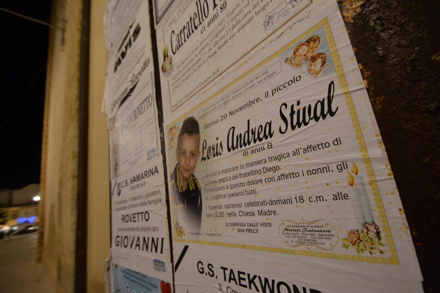 Ragusa, giorno dei funerali di loris: chiesa transennata