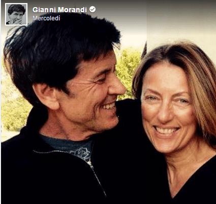 Gianni Morandi alla moglie Anna Dan: 'Da 20 anni sei una sorpresa continua'