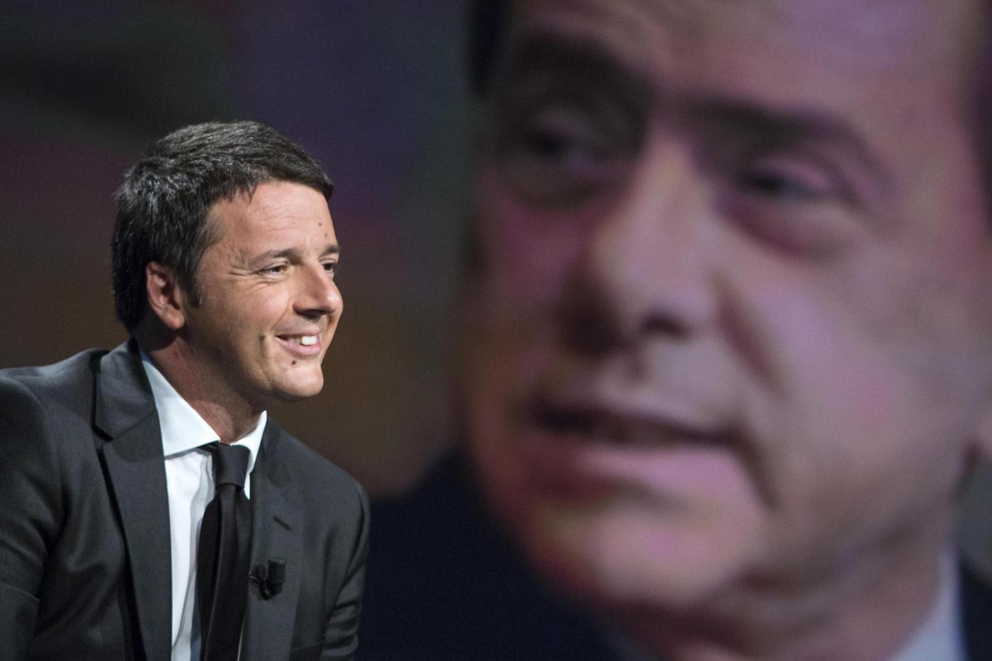 Matteo Renzi ospite a ''In Mezz'Ora''