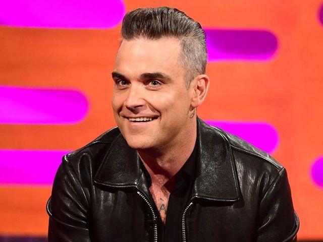 Robbie Williams botox