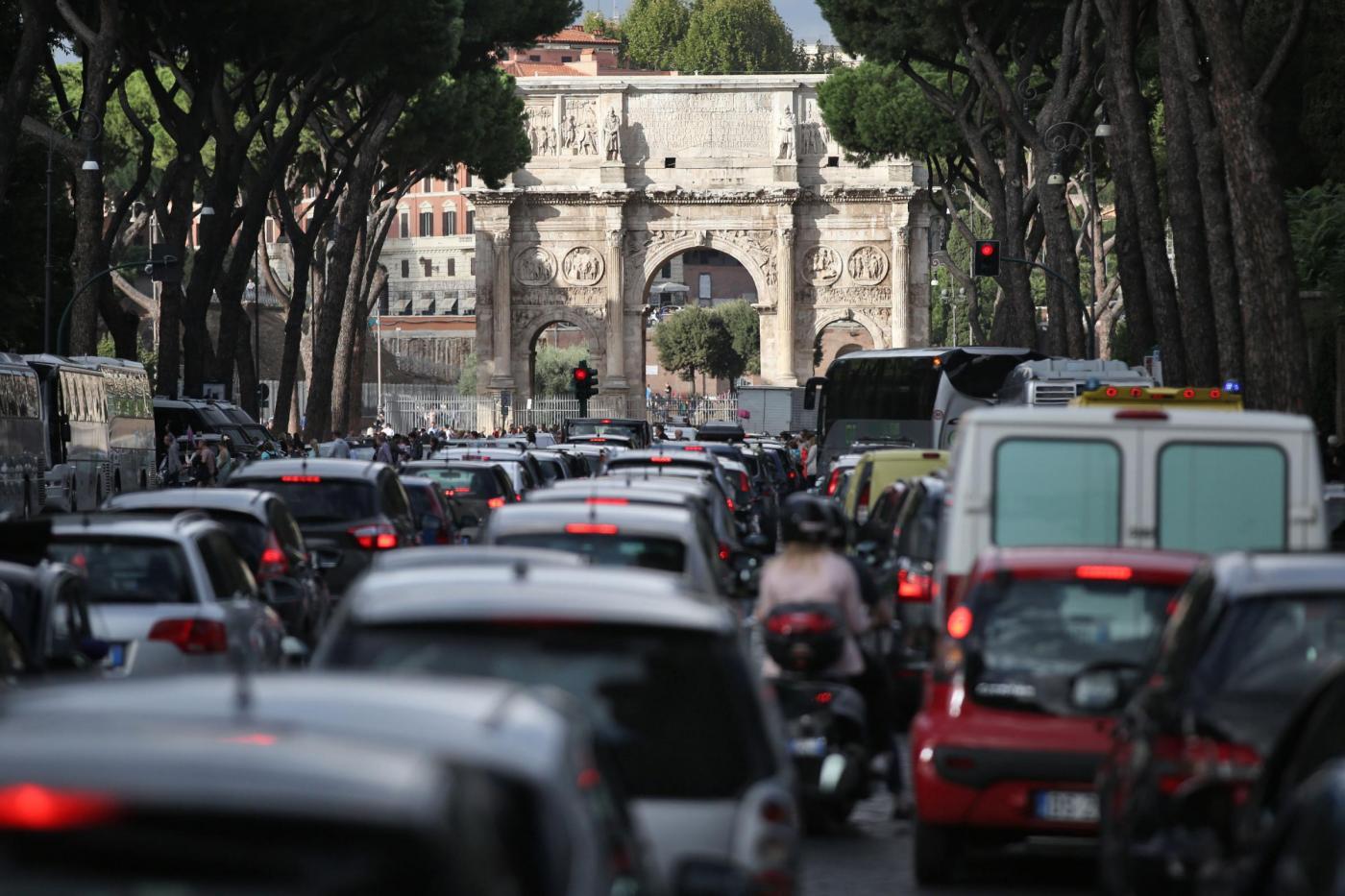 Sciopero dei trasporti: traffico in tilt a Roma