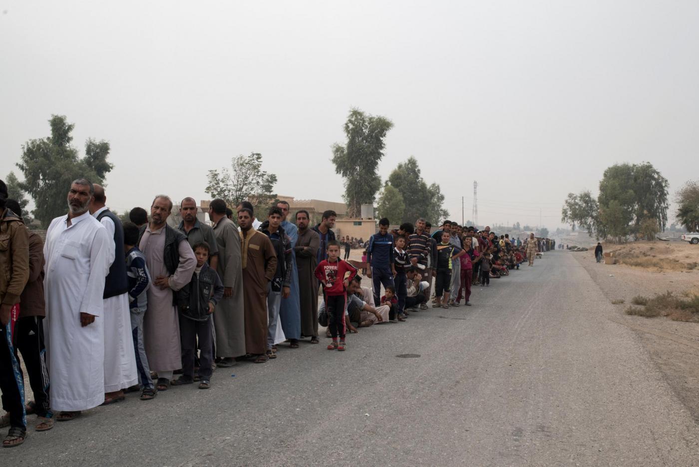 Iraq, il dramma degli sfollati della battaglia di Mosul