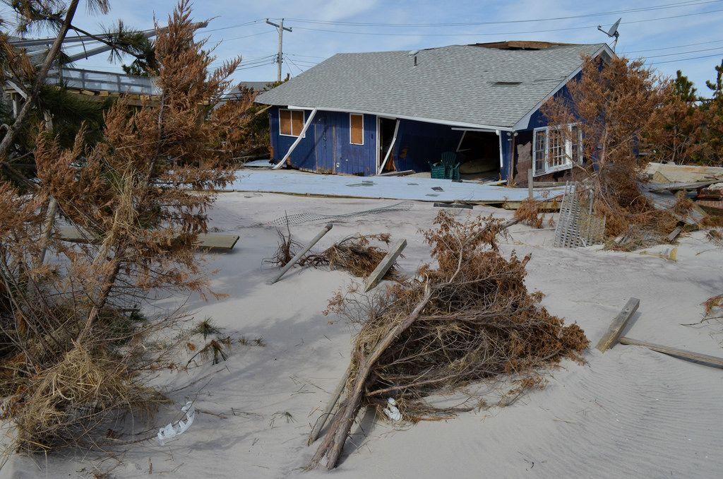 uragano sandy distruttivo