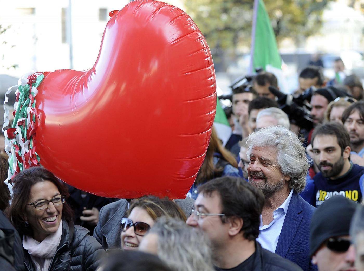 Referendum, Grillo: 'Se vince il No vogliamo le elezioni'