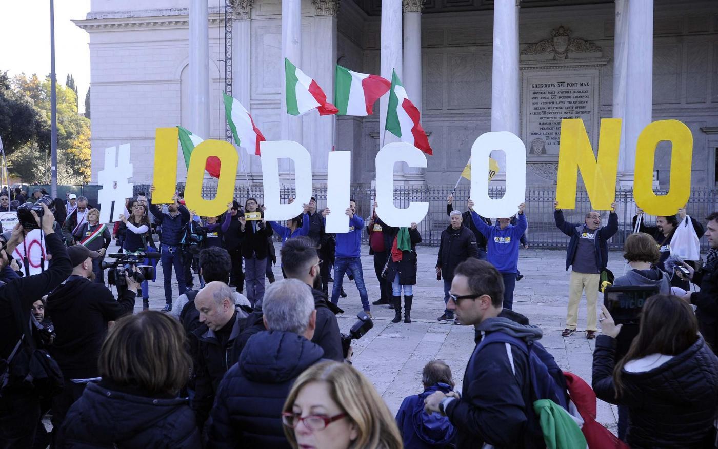 Cammino per la Costituzione a Roma del Movimento 5 Stelle