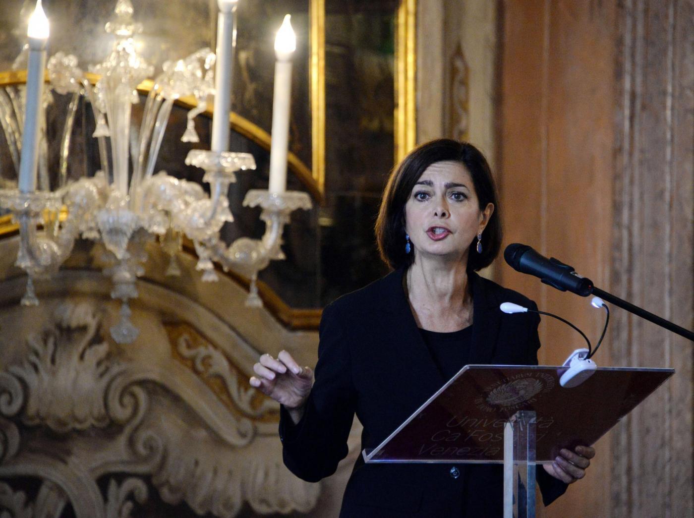 Violenza sulle donne, Boldrini: 'Basta insulti in rete'