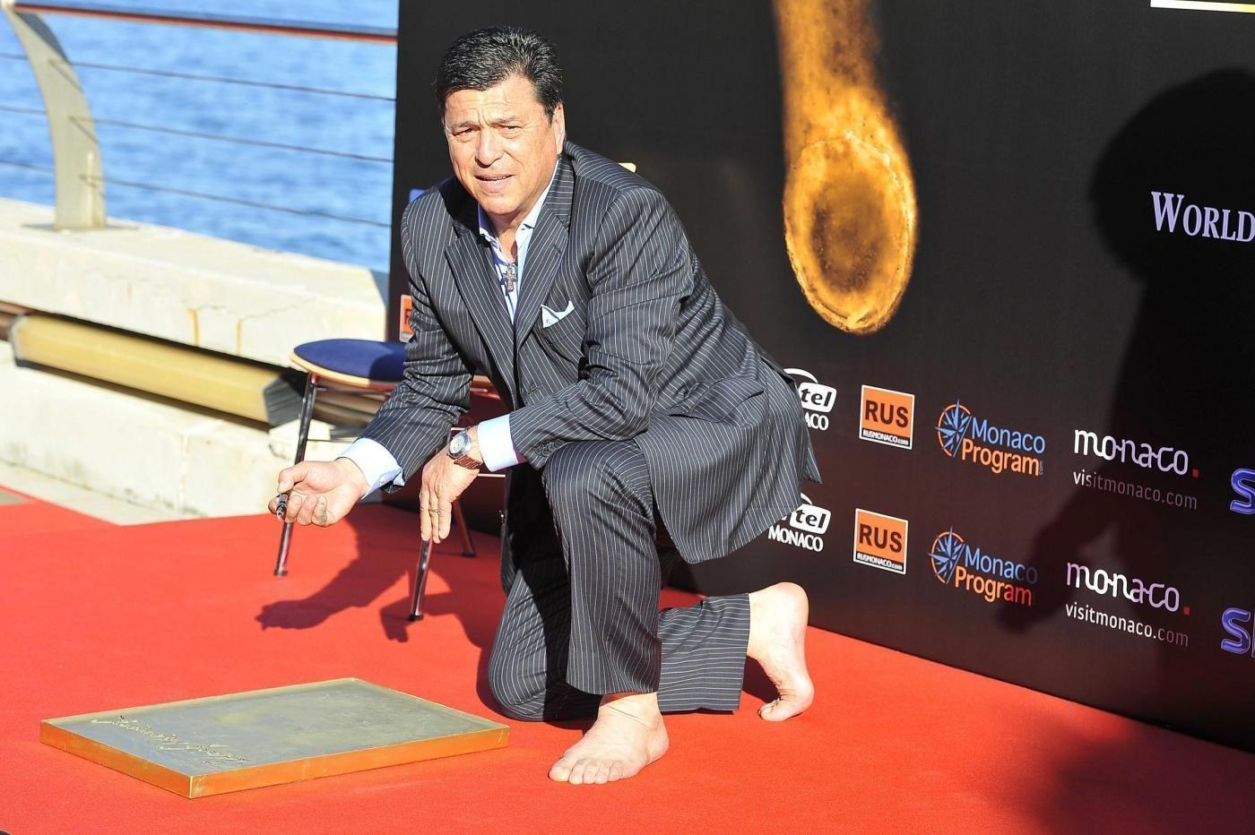 GOLDEN FOOT AWARD MONACO 2015 Footprint Ceremony