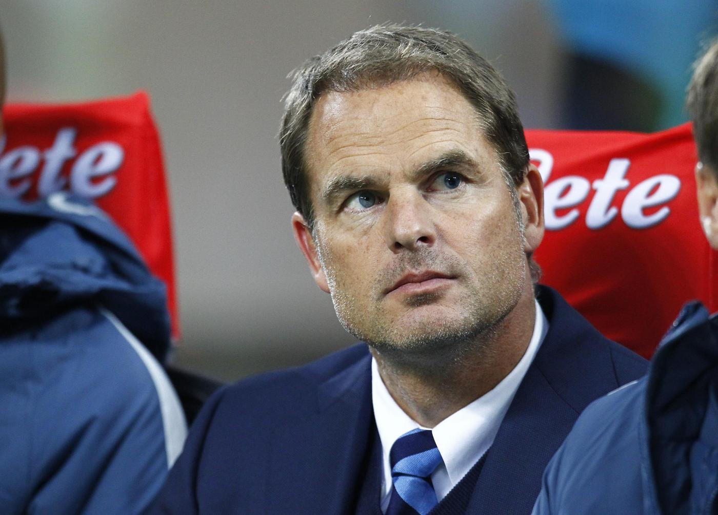 L'Inter esonera De Boer, squadra a Vecchi poi a Pioli