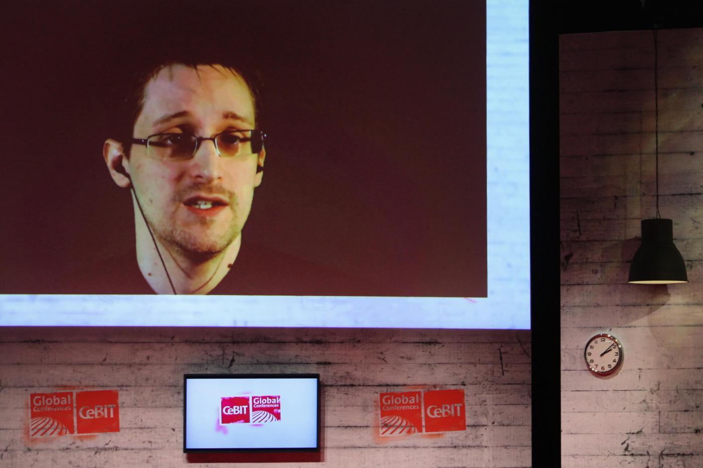 CeBIT 2015, Edward Snowden parla via streaming in diretta