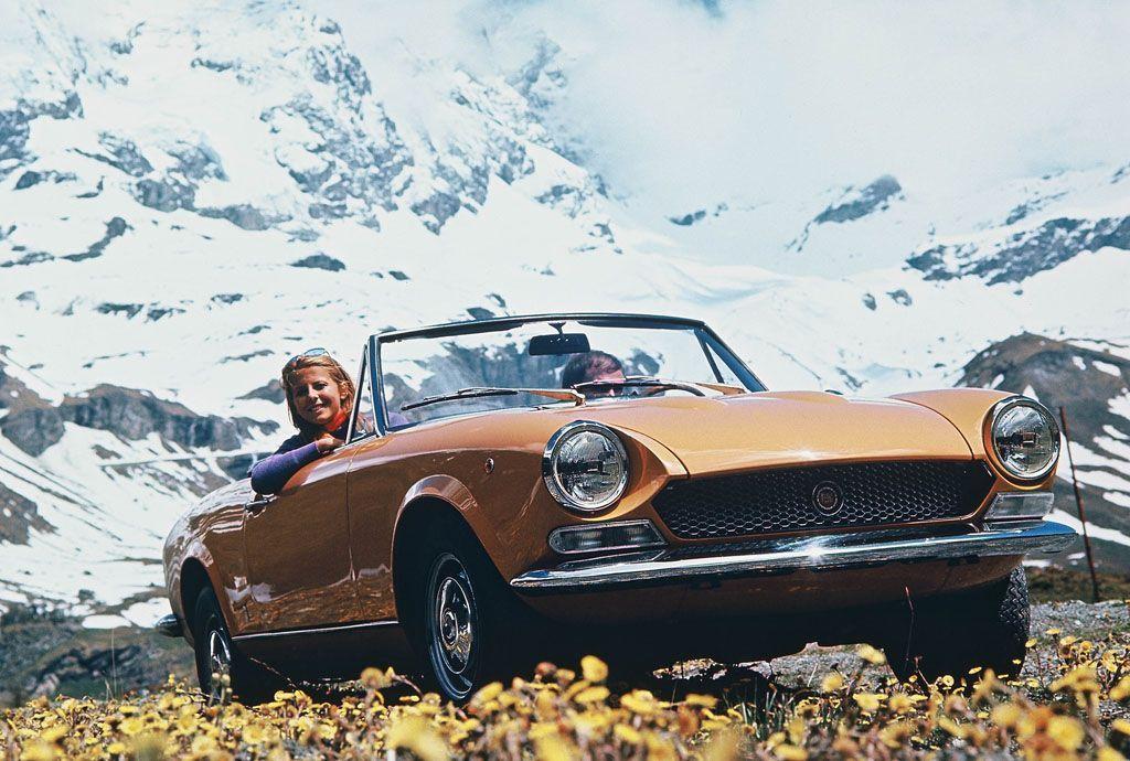 Fiat 124 Sport Spider 50 anni: mezzo secolo di libertà