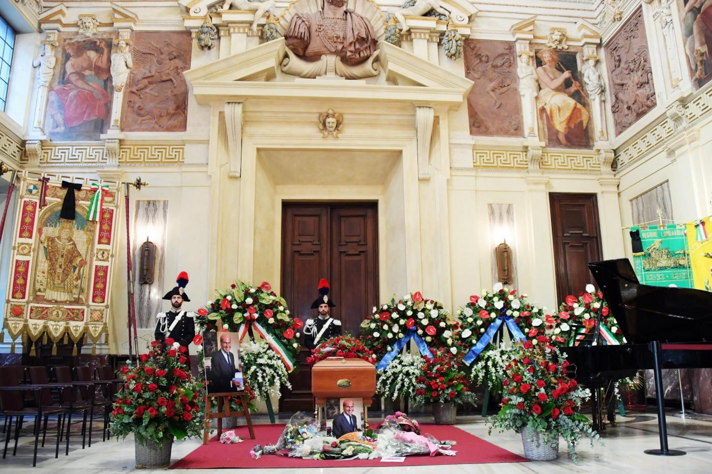 Funerale di Umberto Veronesi a Milano