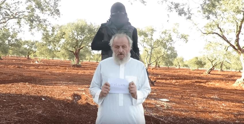 Sergio Zanotti, riappare in video l'imprenditore italiano rapito in Siria