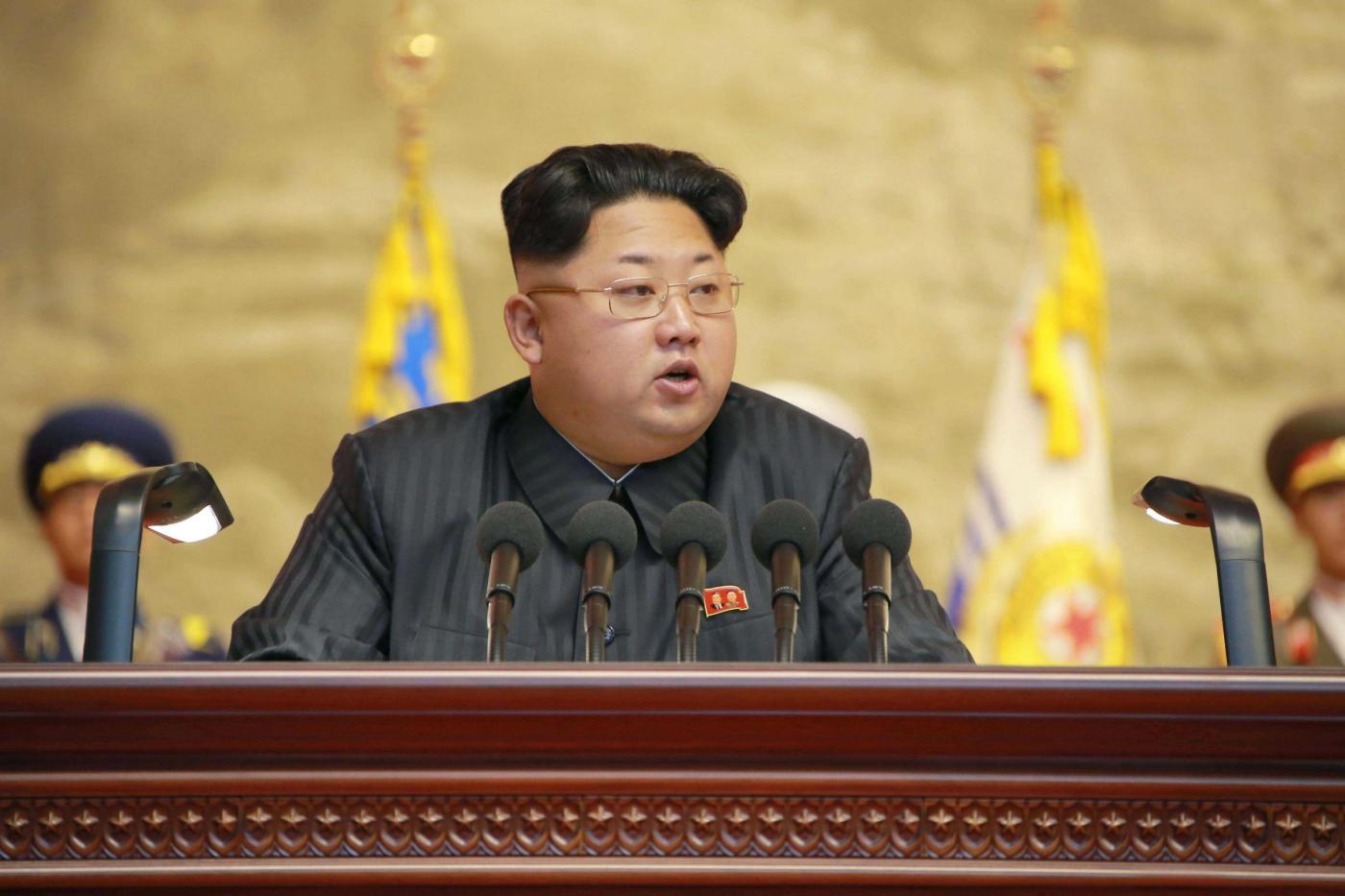 Corea del Nord, riunione di veterani di guerra