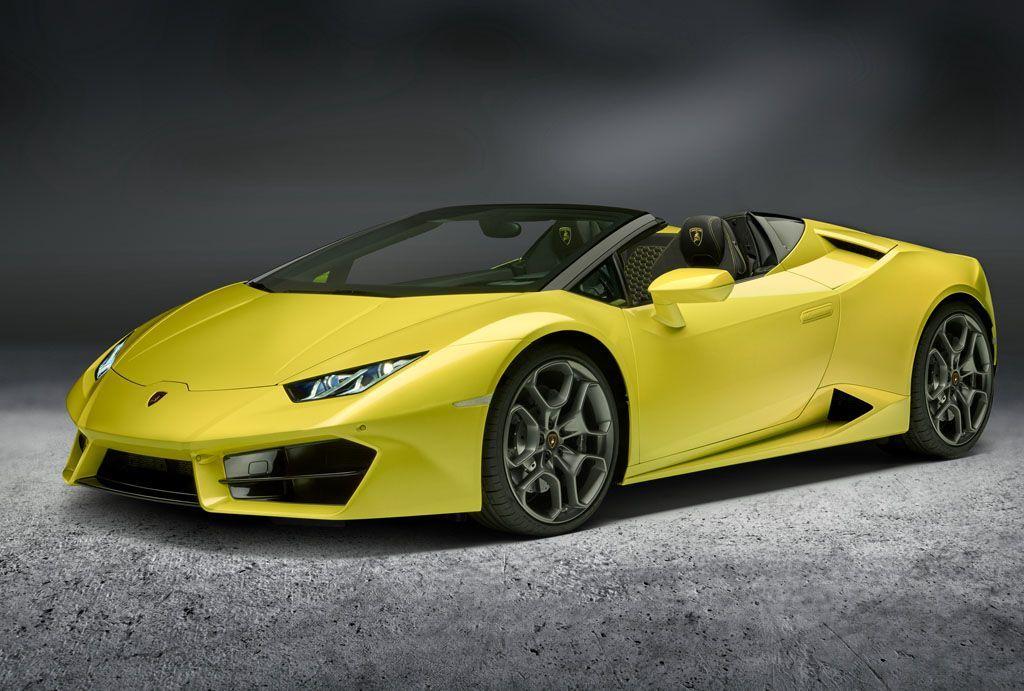 Lamborghini Huracán RWD Spyder: tutta dietro al salone di Los Angeles