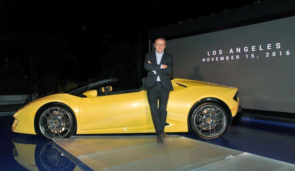 Lamborghini Hosts Global Debut of the Huracan RWD Spyder