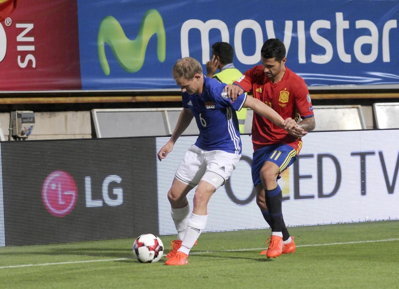 Spagna vs Liechtenstein Amichevole