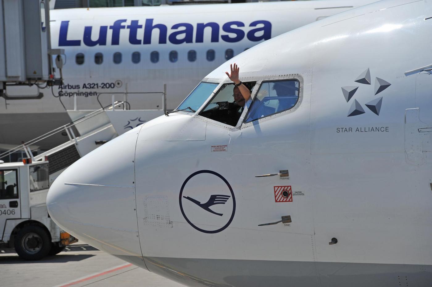 Sciopero Lufthansa: aerei fermi il 29 e 30 novembre 2016