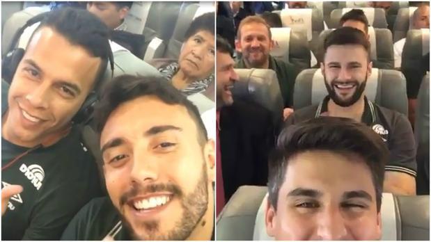 Incidente aereo Chapecoense: i video dei calciatori prima della partenza