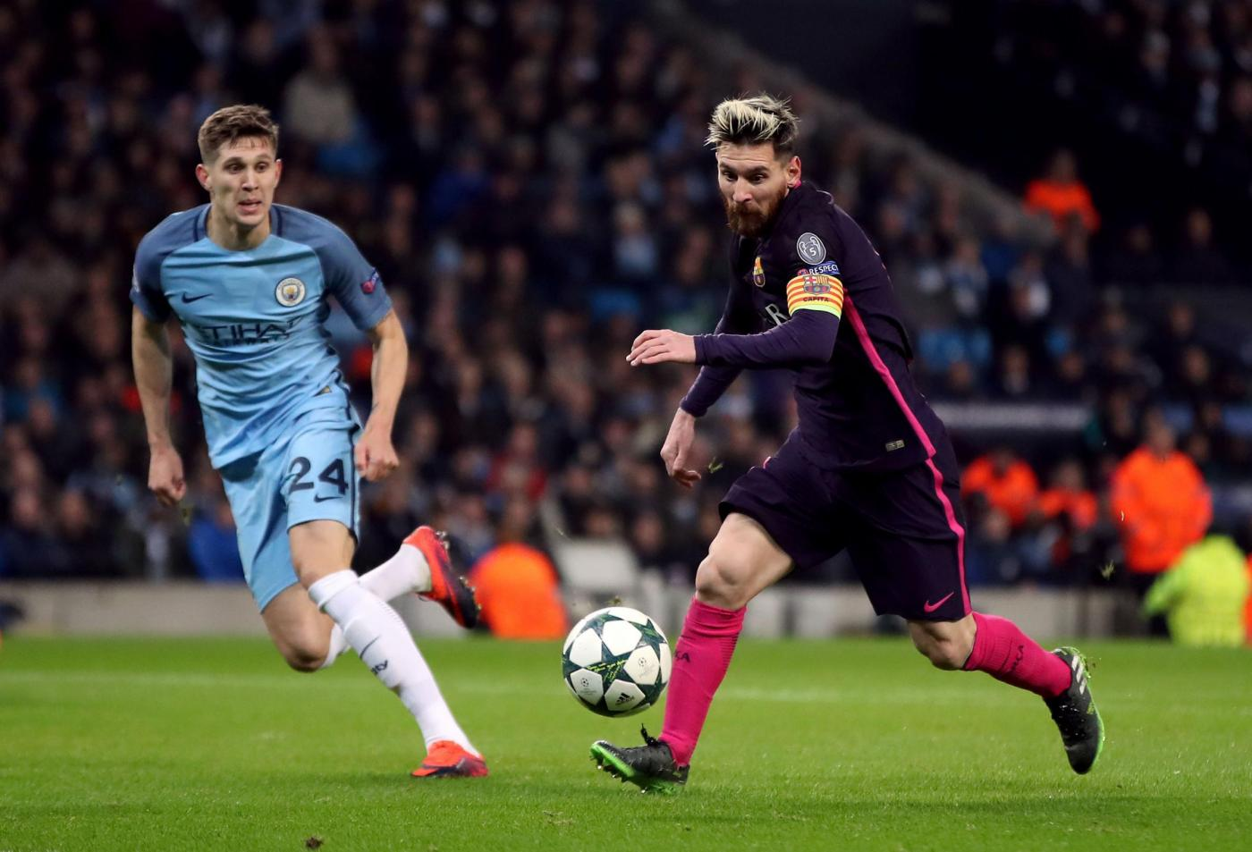 Manchester City vs Barcellona Champions League 2016/2017